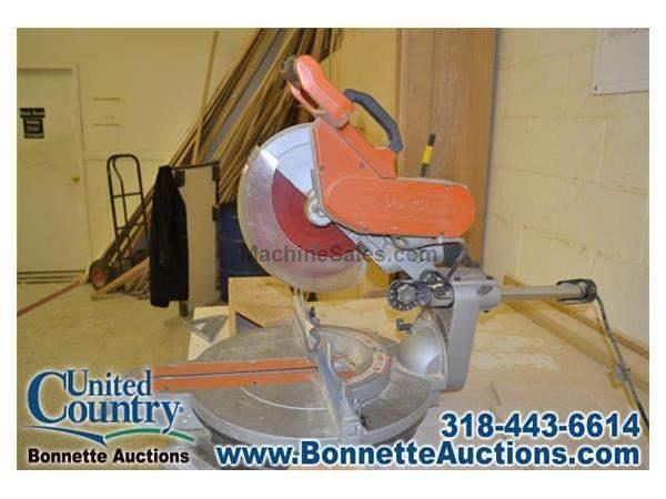 Commercial Woodworking Equipment Auction - Radial Arm Saw