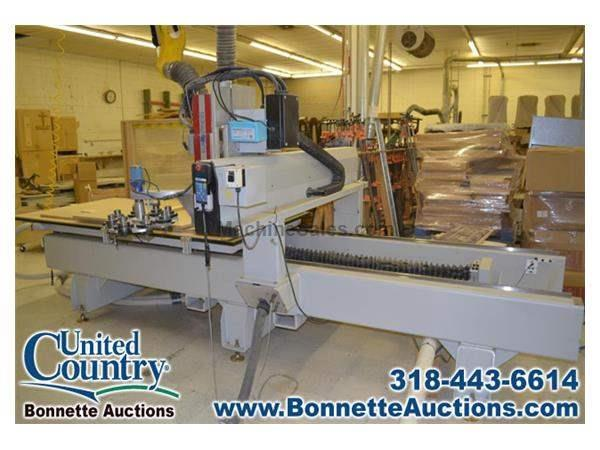 Commercial Woodworking Equipment Auction - CNC Router