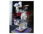 """49"""" Table 3HP Spindle GMC GMM-949V-PKG w/DRO, PF VERTICAL MILL, Made In Taiwan, with"""