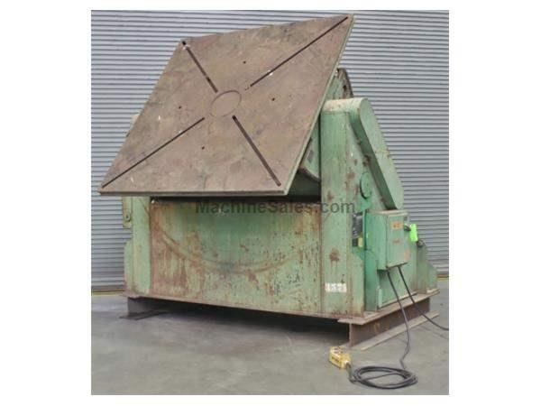 40,000 Lbs. Aronson Gear Driven Welding Positioner