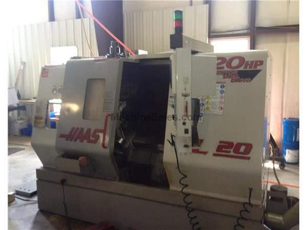 1999 Haas SL-20T CNC Turning Center w/ Live Tool Capability