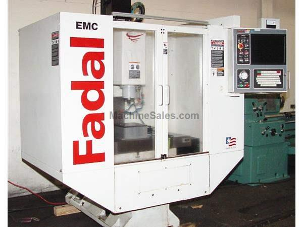 "20"" X Axis 16"" Y Axis Fadal EMC HIGH SPEED VERTICAL MACHINING CENTER, Fadal 88HS"