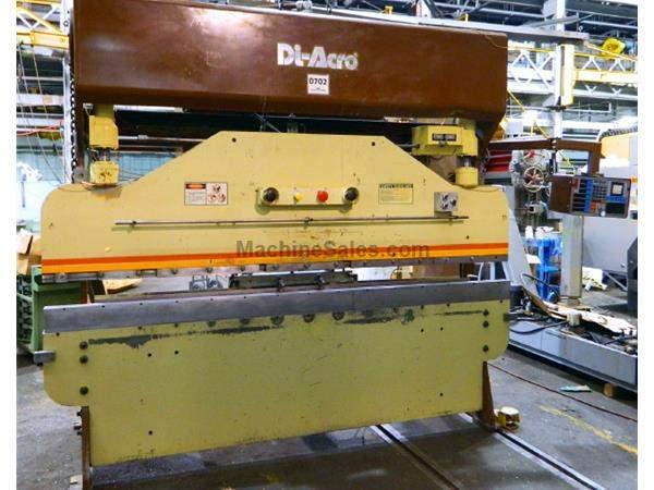 "75 Ton 120"" Bed Diacro 75-10 PRESS BRAKE, DiAcro CNC Gauging System"