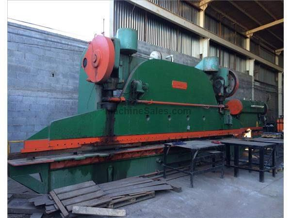 CINCINNATI 21 600 TON MECHANICAL PRESS BRAKE