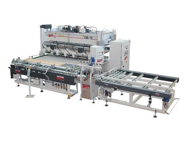"AUTOMATIC EDGE-GLUING PRESSING LINE - MOD. ""GB/13"""