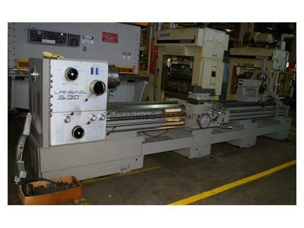 "30""/37"" X 160"" LANSING GAP BED ENGINE LATHE TYPE G30"