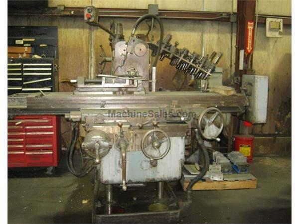 Kearney & Trecker Horizontal Mill, Dual Screw, Driven Rotary Table