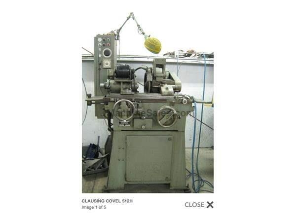 512H Clausing Covel Cylindrical Grinder.