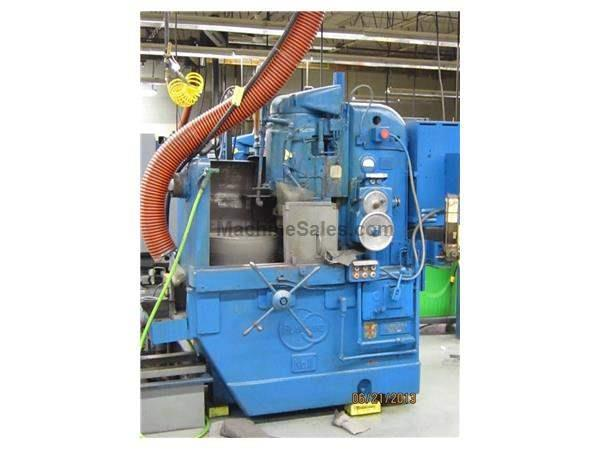"20"" Chuck 15HP Spindle Blanchard 11-20 ROTARY SURFACE GRINDER, 3/8"" CHUCK LIFE, 7"" VERT., DRY BASE"