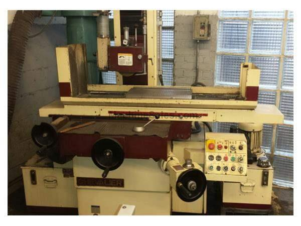 "8"" Width 18"" Length Chevalier FSG-2A818 SURFACE GRINDER, 2X AUTO FEEDS, PMC, COOLANT"