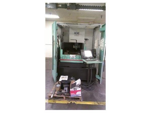 AGIE, CLASSIC 2S, CNC WIRE ELECTRIC DISCHARGE MACHINE NEW: 2003
