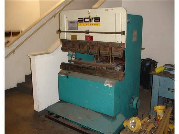 Adira 22 ton, 4' Hydraulic Press brake. Rear op back gauge