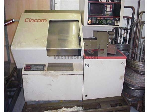 CITIZEN CINCOM F16 CNC SWISS AUTOMATIC SCREW MACHINE