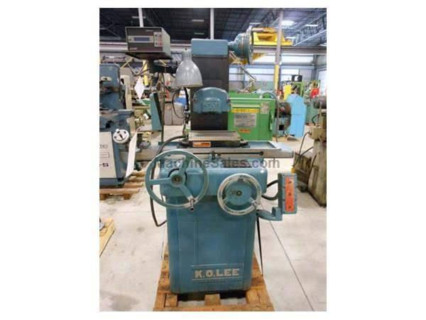 "1974 - K O LEE S714 HAND FEED SURFACE GRINDER - 6"" X 12"""
