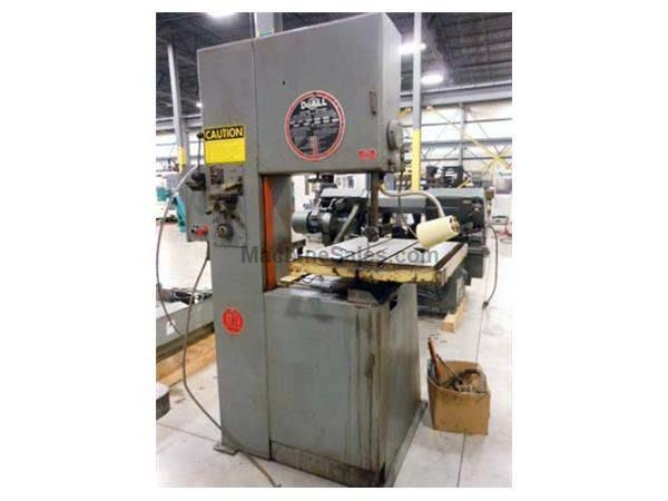 1974 - DO-ALL 2012-A VERTICAL BANDSAW - 20""