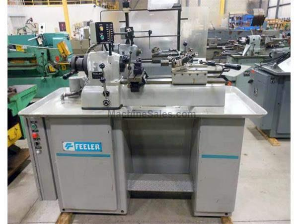 "1993 - FEELER FTS-27 SECOND OPERATION LATHE - 9"" X 36"""