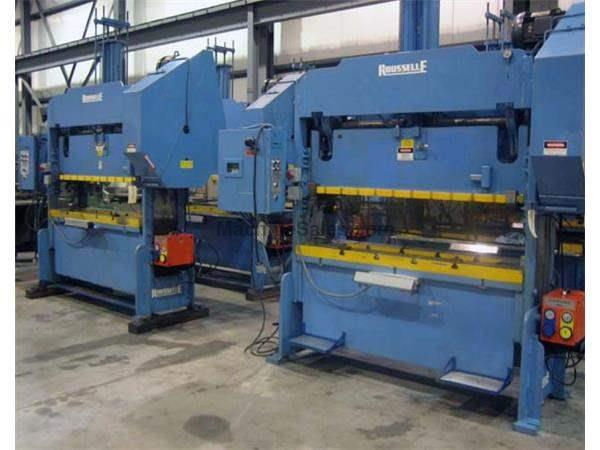 1998 - ROUSSELLE MODEL 4SS72 STRAIGHT SIDE PRESS, 40 TON