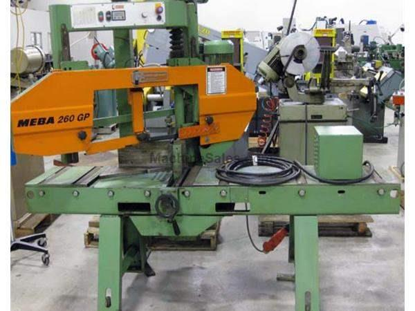 2003 - PEDDINGHAUS/MEBA MODEL 260GP SEMI-AUTOMATIC MITER BANDSAW, 10″