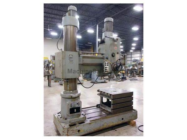 USED WMW BR40X1250 RADIAL DRILL - 4' X 12""