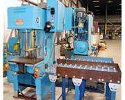 1980 - DENISON MULTIPRESS MODEL WT-120M C-FRAME HYDRAULIC PRESS, 12 TON