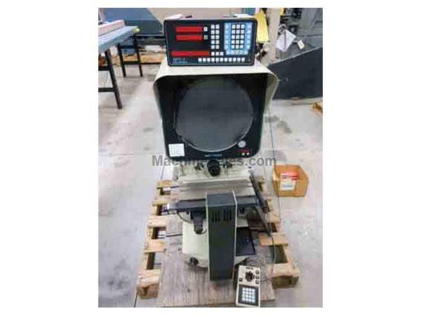 1997 - DELTRONIC MODEL DH-214 HORIZONTAL BEAM OPTICAL COMPARATOR, 14""