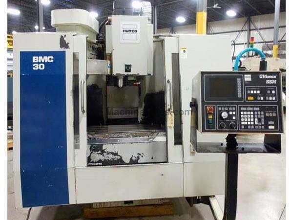 1997 - HURCO MODEL BMC-30/SSM 3-AXIS CNC MACHINING CENTER, 30″ X 18″ X 24″, WITH ULTIMAX SSM CONTROL