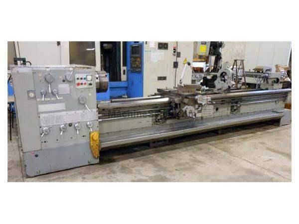 "1997 - HERCULES SPM-630 GAP BED ENGINE LATHE - 25"" X 157"""