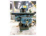 1991 - HECKERT MODEL FW400E HEAVY DUTY PLAIN HORIZONTAL MILL WITH (2) VERTICAL HEADS, 16""