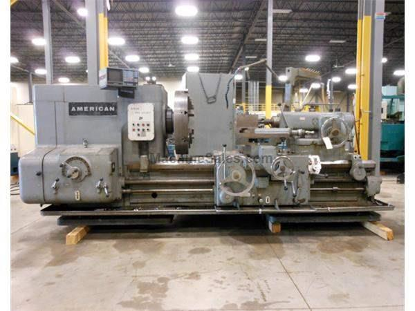 "1969 -AMERICAN PACEMAKER STYLE H HEAVY DUTY, STRAIGHT BED ENGINE LATHE, 39-3/4"" X 48"""