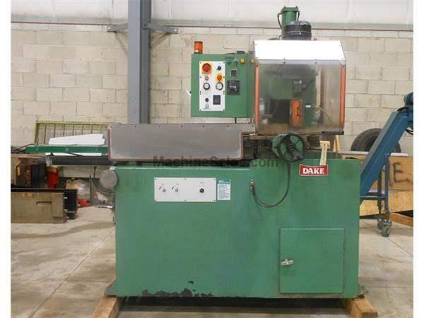 1997 - DAKE EUROMATIC 370PP FERROUS TYPE AUTOMATIC COLD SAW, 14-1/2″ BLADE