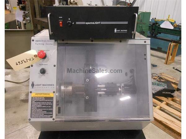 "SPECTRA LIGHT 0400 CNC LATHE - 4.6"" X 6"""
