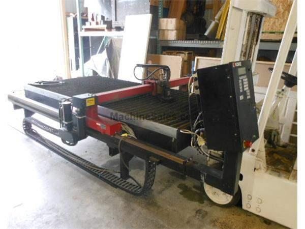 2000 - KOIKE DC-510 PLASMA CUTTING MACHINE - 5' X 10'