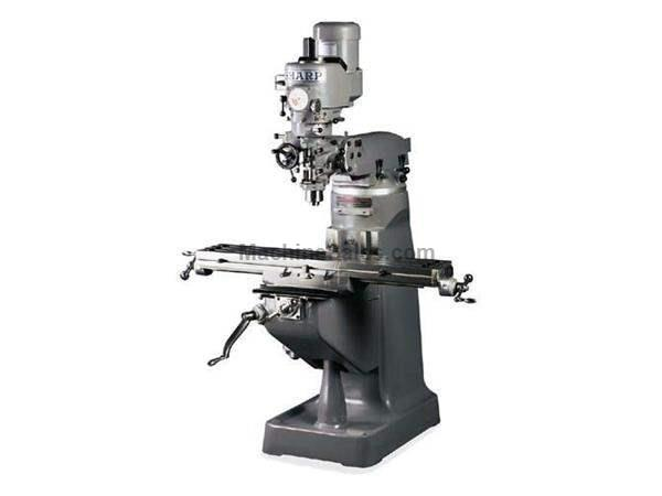 NEW SHARP MODEL LMV 50 VERTICAL TURRET MILLING MACHINE, 9″ X 50″