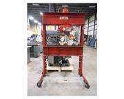 DAKE MODEL 6-575 DUAL ACTING AIR HYDRAULIC H-FRAME PRESS, 75 TON