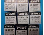 NEW - LYNDEX 5C COLLET SET  - 5C