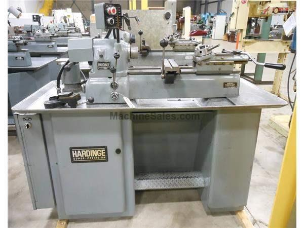 1980 - HARDINGE DV-59 SECOND OPERATION LATHE - 1-1/16""