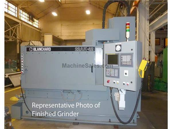 "Blanchard #22AK-42, 42"" Fanuc CNC Vertical Spindle Rotary Surface Grinder"