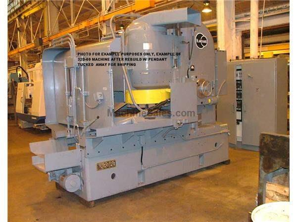 "Blanchard #32K-60, 60"" Vertical Spindle Rotary Surface Grinder"