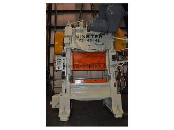 Minster P2-45-42, 45 Ton SSDC Press