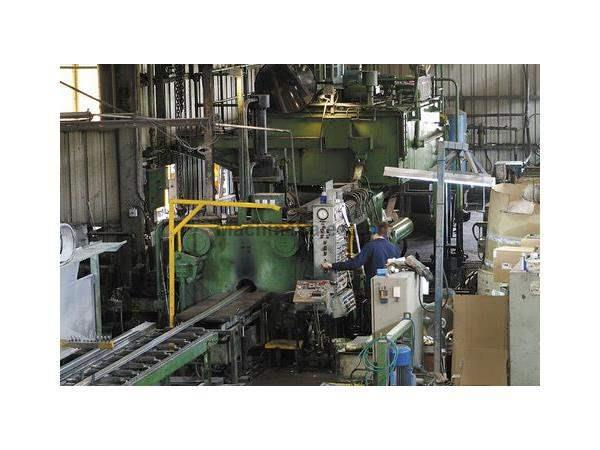 1800 Ton, SUTTON, 1975, OIL HYDRAULIC, ALUMINUM EXTRUSION PRESS, DIRECT (12158) Machinery