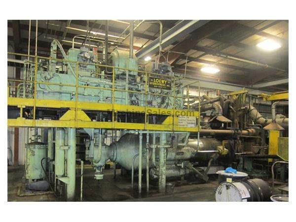 "1700 Ton, LOEWY, OIL HYD., PIERCER, DIRECT, 5-7"" BILLETS (12268) Machinery Internatio"