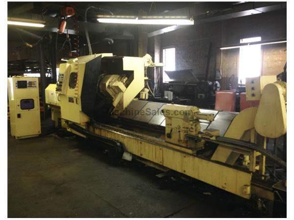 "1980 Mfg. Ikeghai AX-40 Lathe with 32"" Swing and 120"" Centers, Fa"