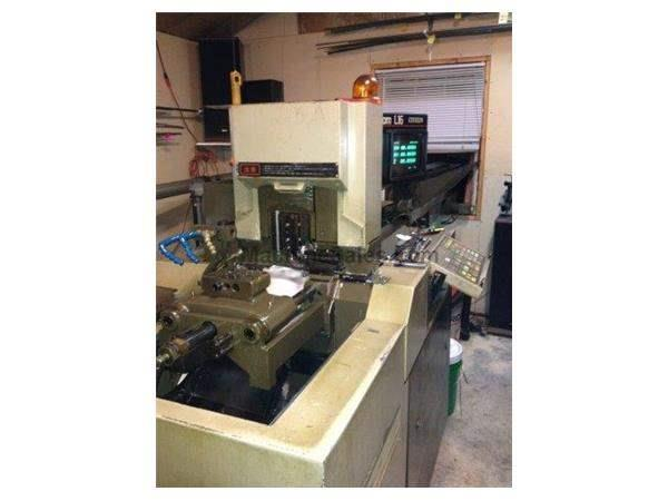 "1/2"", Citizen, No. L16, Fanuc, Ikuraseiki Bar Top Loader,5 Turning Tools,3 End W Nevi"