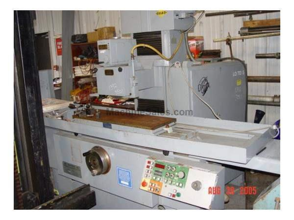 "12"" x 36"", Elb SWN9ND, 3 Axis, Electro Magnetic Chuck,'84 Nevins Machinery Concept"