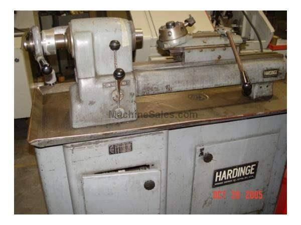 DV59 Hardinge Super Precision 2nd Op Lathe,Hardinge Ball Bearing Spdl,Var 230-35 Nevins Machinery Concept