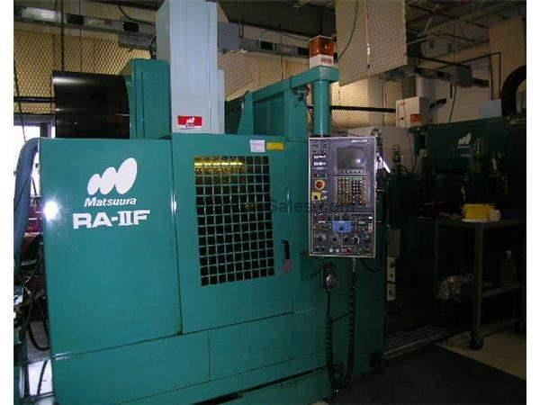 "23.6""X, 16.1""Y, 18.5""Z, Matsuura RA IIF, 30-8000RPM,40Taper,20 Position Too"