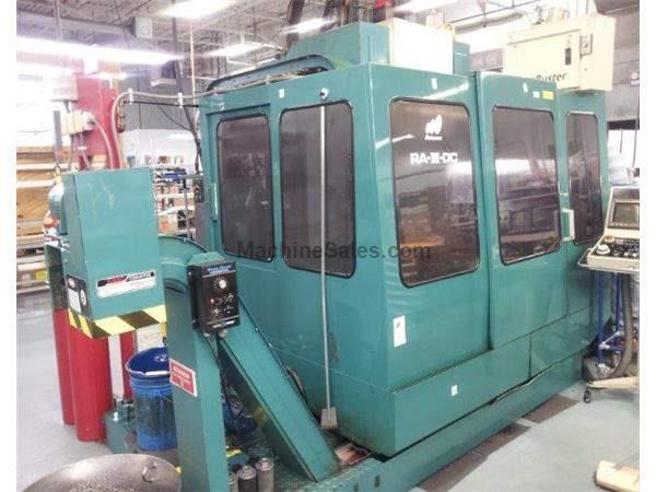 "29""X, 17""Y, 17""Z, Matsuura RA III DC, Twin Pallets & Spindles,Fanuc OM,1 pa"