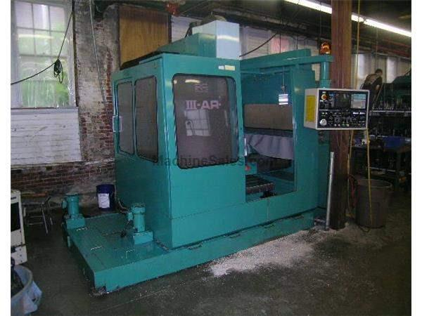 "29.9""X, 17.3""Y, 17.7""Z, Matsuura RA III, Yasnac MX3,6000RPM,10HP,Geared Hd,"