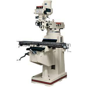 "JET JTM-1050CNC, ACU-RITE MILLPWR, Table 10""x50"",3Hp,Ram tr. 21-1/4"",Knee trav. Nevins Machinery Concept"