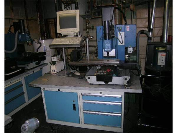 Pro-Lite 2000, 4th Axis,w/Toolchanger,P.C,Cabinet Base Nevins Machinery Concept